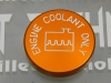 Orange Coolant Cap