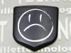 """""""Unhappy Face"""" Black Front Nose Badge"""