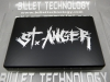 "Black ""St. Anger"" Fuse Box Cover"
