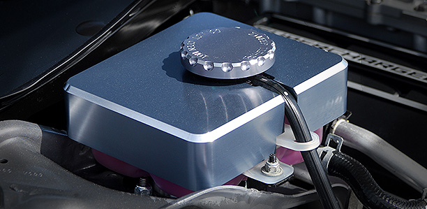 hellcat supercharger coolant reservoir covers now