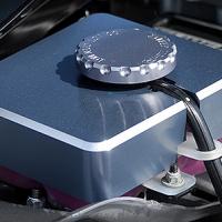 Billet Technology Hellcat Supercharger Coolant Reservoir Cover