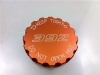 Orange Radiator Cap Cover