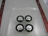 Skull Wheel Center Caps