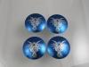 Blue Tribal Wheel Center Caps