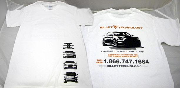 Billet Tech Shirts 2012 r2