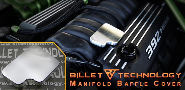 Billet Technology Manifold Baffle Cover