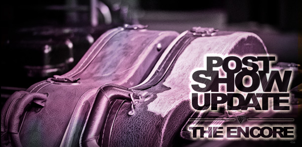 The Encore Sale - Post Show Update