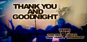 The Encore Sale is Over - Thank You, Good Night!