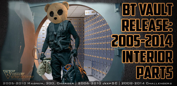 BT Vault Release: 2005-2014 Interior Parts