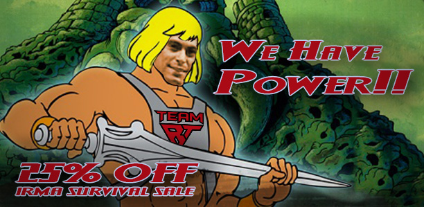 We Have Power & 25% Off Sale