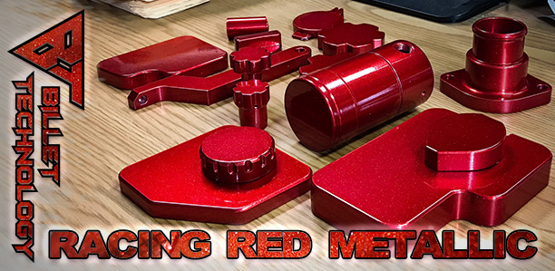 New Finish: Racing Red Metallic
