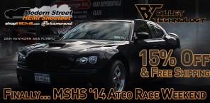 Finally... MSHS '14 Atco Race Weekend | 15% and Free Shipping