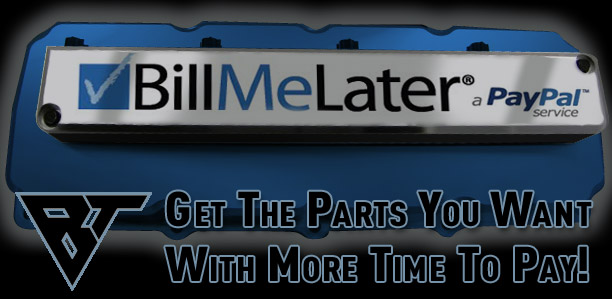 Get The Parts You Want With More Time To Pay!