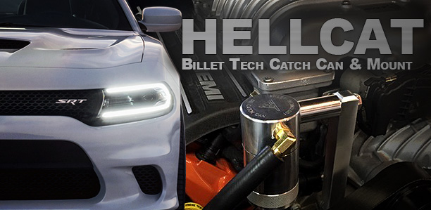 Billet Technology Hellcat Catch Can