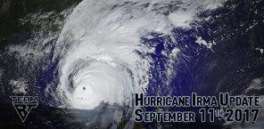 Hurricane Irma Update September 11, 2017