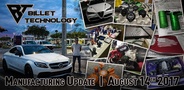 Manufacturing Update August 14th 2017