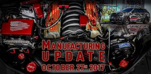 Manufacturing Update October 27th, 2017