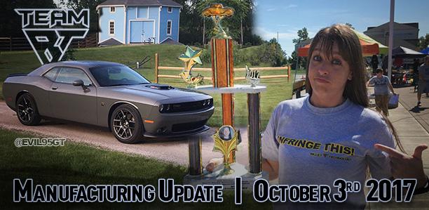 Manufacturing Update October 3, 2017