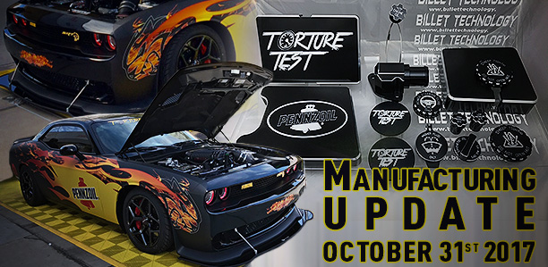 MFG Update October 31st, 2017