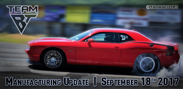 Billet Technology | Manufacturing Update | September 18th 2017