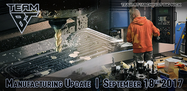 Manufacturing Update September 29, 2017