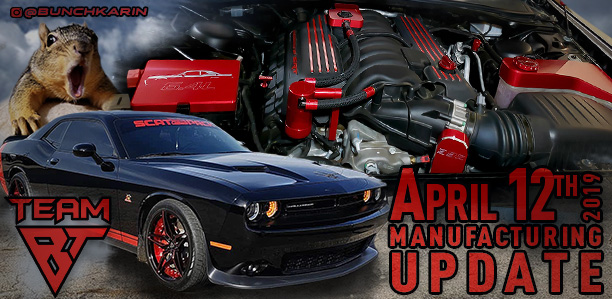 Manufacturing Update April 12, 2019