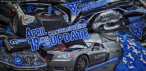 Manufacturing Update Arpil 19, 2021