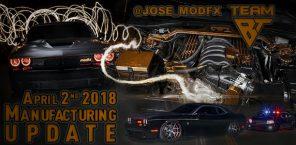 Manufacturing Update April 2nd, 2018