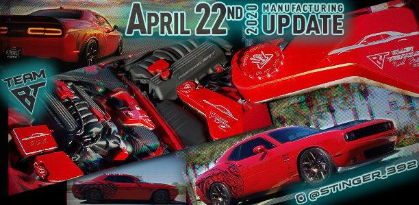 Manufacturing Update April 22, 2020