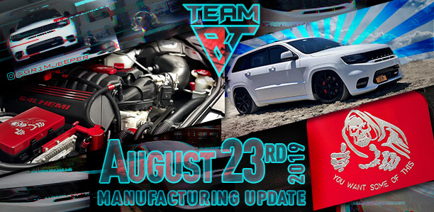 Manufacturing Update August 23, 2019