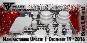 MFG Update December 19, 2016 Order Statuses White and Black