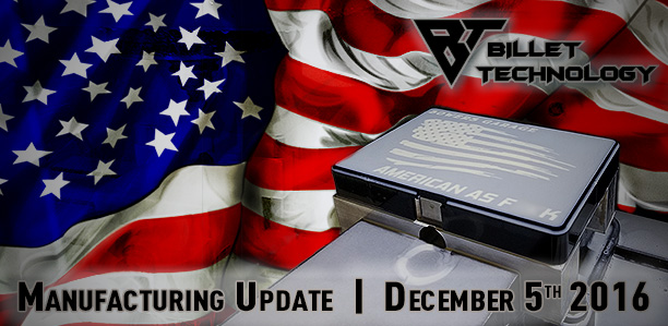 Manufacturing Update December 5th, 2016