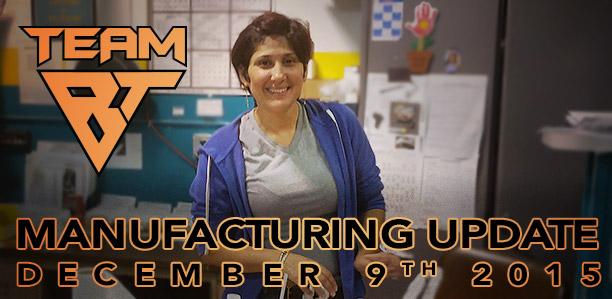 Manufacturing Update December 9, 2015