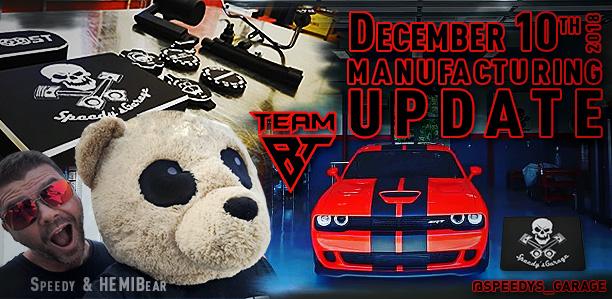 Manufacturing Update December 10, 2018