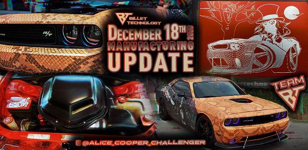 Manufacturing Update December 18, 2020