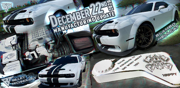 Manufacturing Update December 22, 2020