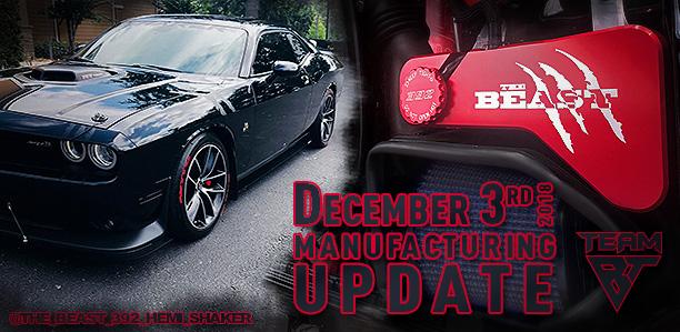 Manufacturing Update December 3, 2018