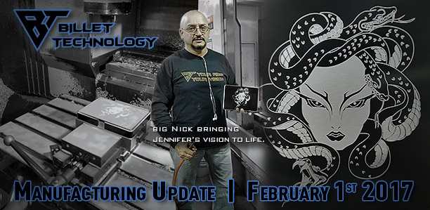 Manufacturing Update February 1st, 2017