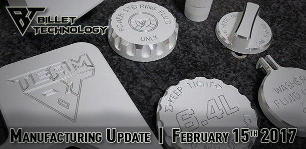 Manufacturing Update February 15th, 2017