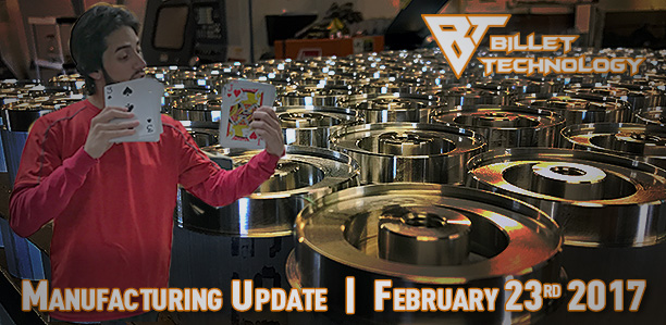 Manufacturing Update February 23rd, 2017