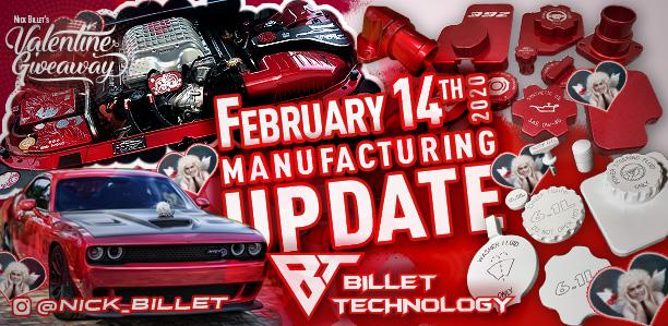 Manufacturing Update February 14, 2020