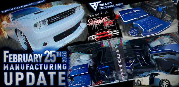 Manufacturing Update February 25, 2020
