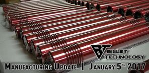 Manufacturing Update January 5th, 2017