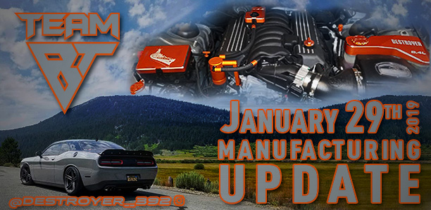 Manufacturing Update January 29, 2019
