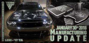 MFG Update January 30th, 2018