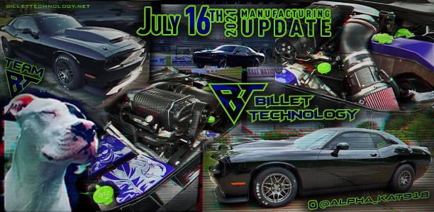 Manufacturing Update July 16, 2021