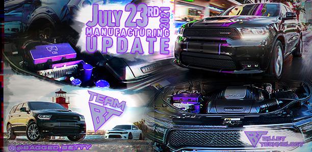 Manufacturing Update July 23, 2021