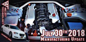 Manufacturing Update July 30, 2018