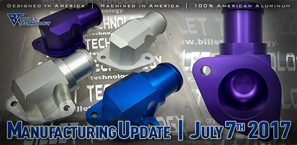 Manufacturing Update July 7th, 2017