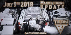 Manufacturing Update July 9, 2018